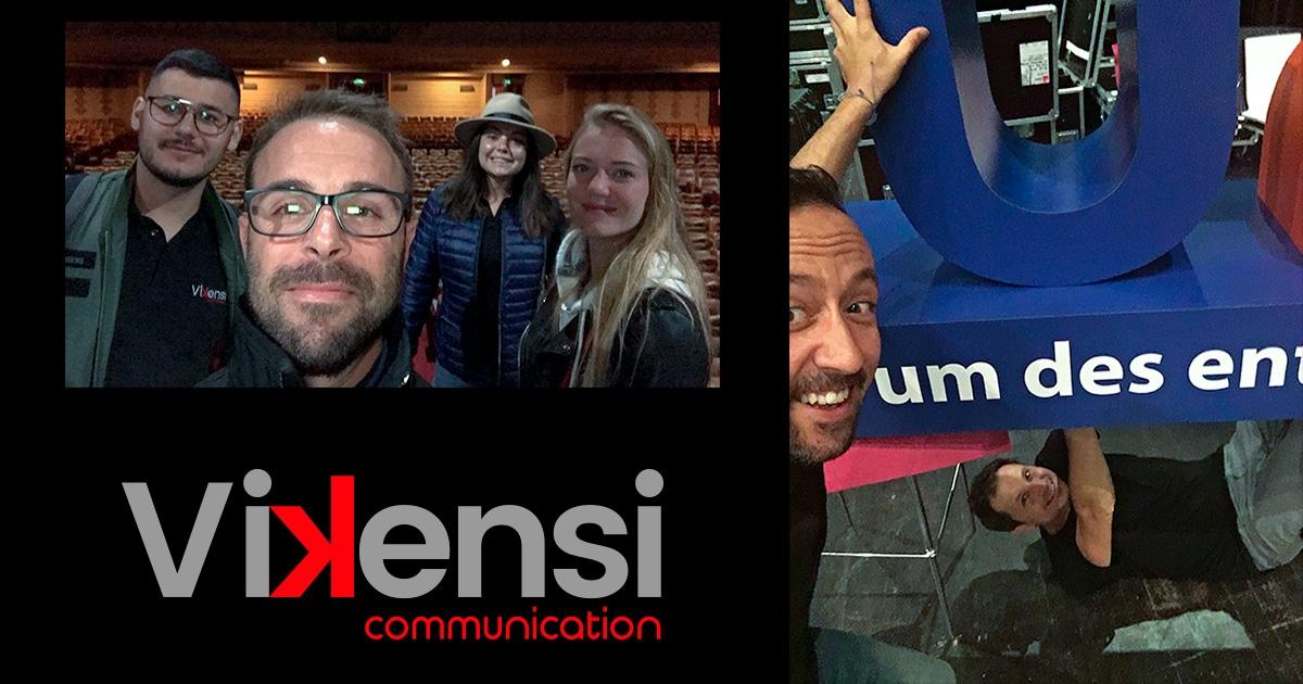 L'équipe Vikensi Communication